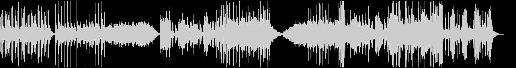 バイオリンをメインとしたエレクトリックの未再生の波形