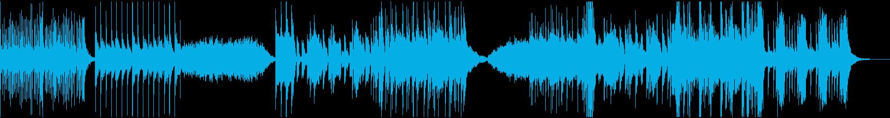 バイオリンをメインとしたエレクトリックの再生済みの波形