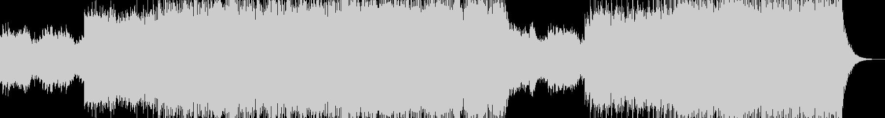 残響音を強くかけたポップロックインストの未再生の波形