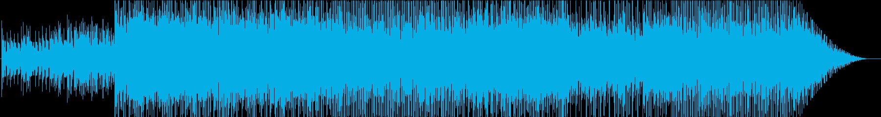 少しアジアテイストなポップエレクトロニカの再生済みの波形
