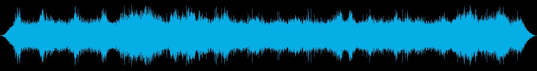 リバーラピッズ:中流量、ヘビーチョ...の再生済みの波形