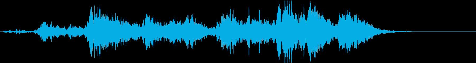 キィ~!(ヴァイオリンが唸る怖い音)の再生済みの波形