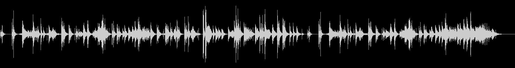 ゆらぎのα波サウンドの未再生の波形