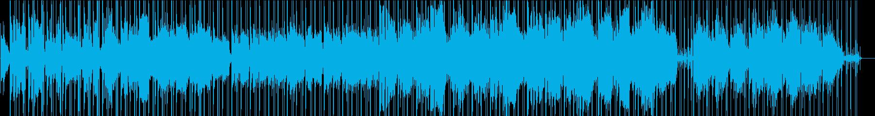 qの再生済みの波形