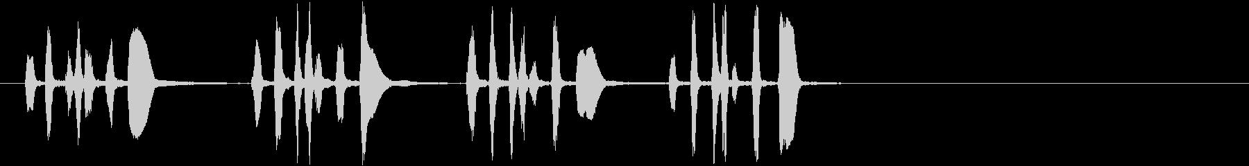 トランペットビューグルモチーフ;ラ...の未再生の波形