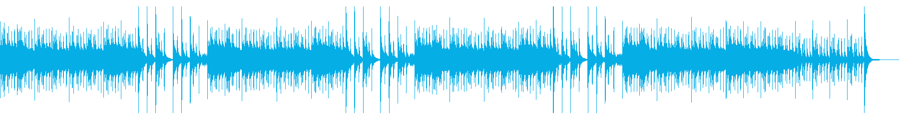 ほのぼの・温かい・ペット・カリンバの再生済みの波形