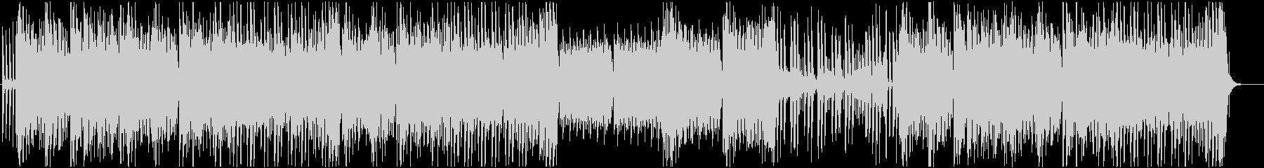 童謡っぽい かわいいトロピカルハウスの未再生の波形