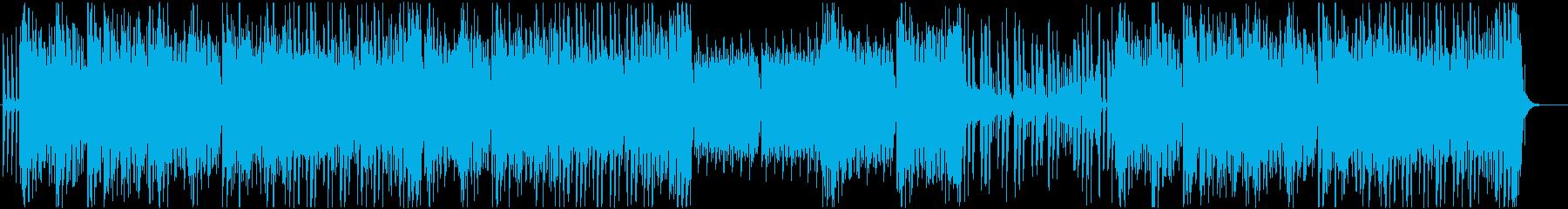 童謡っぽい かわいいトロピカルハウスの再生済みの波形