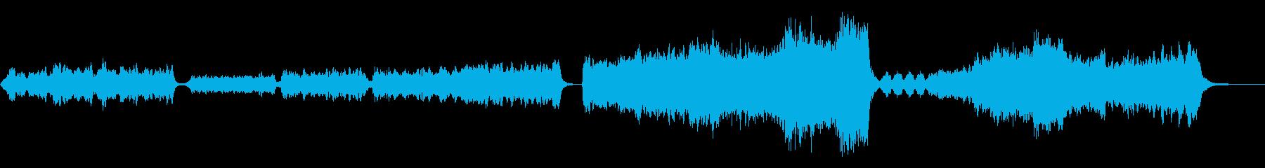 素敵な物語の始まりを予感させるBGMの再生済みの波形