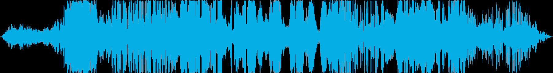 イメージ クレイジーホイッスル01の再生済みの波形