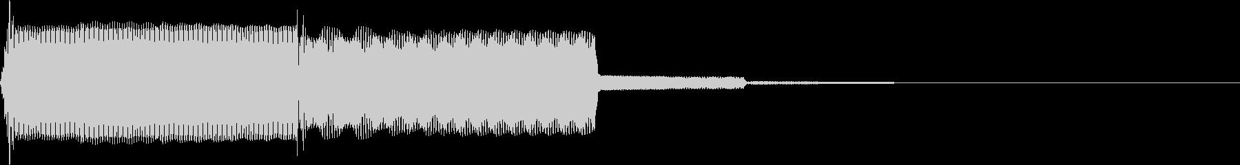 【SE】決定音09(ポピ↑)の未再生の波形