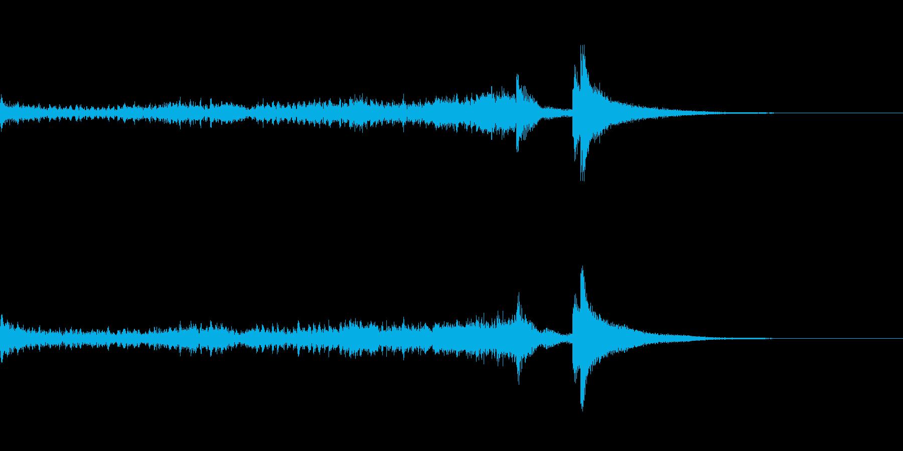 ティンパニーロール長+シンバル☆ドドン2の再生済みの波形