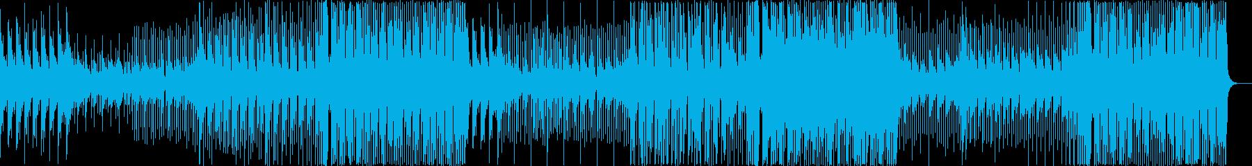 おしゃれ 洋楽 EDM クールの再生済みの波形