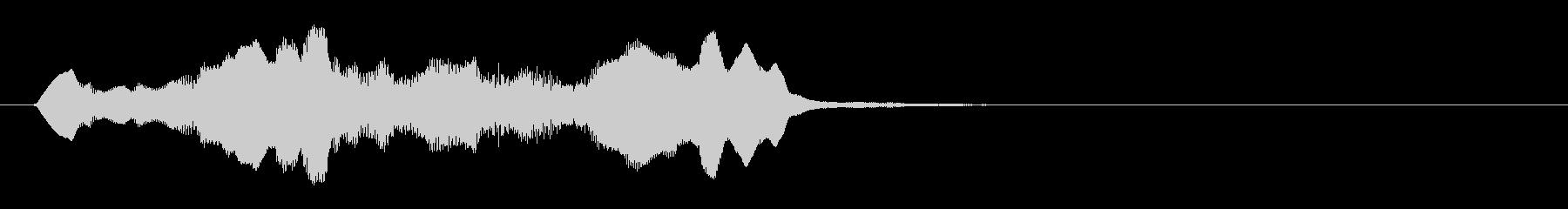 のほほんジングル008_おっとり+3の未再生の波形