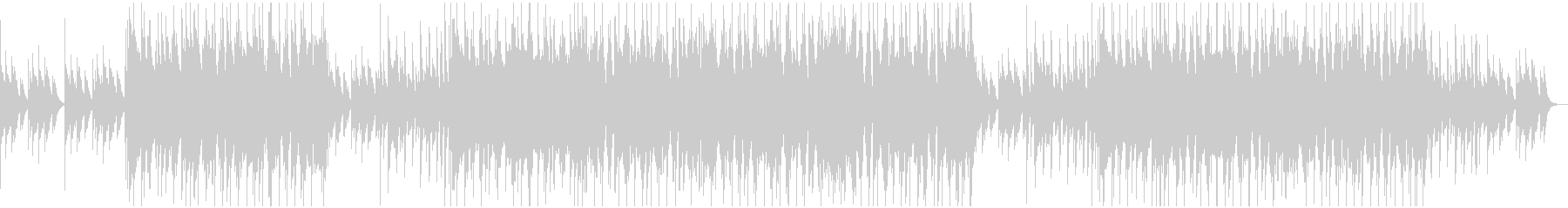 可愛らしいキラキラポップスBGMの未再生の波形