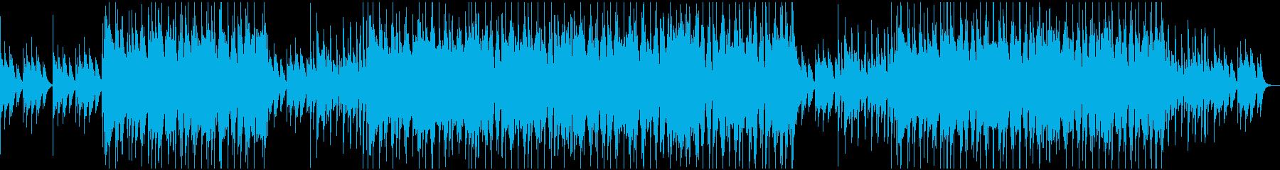 可愛らしいキラキラポップスBGMの再生済みの波形