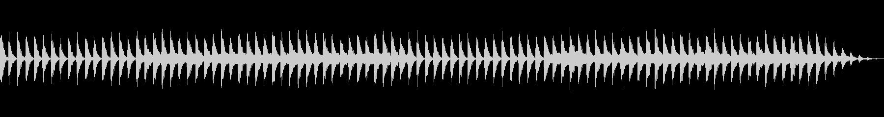 睡眠レベルを高めるリラクゼーション音楽の未再生の波形