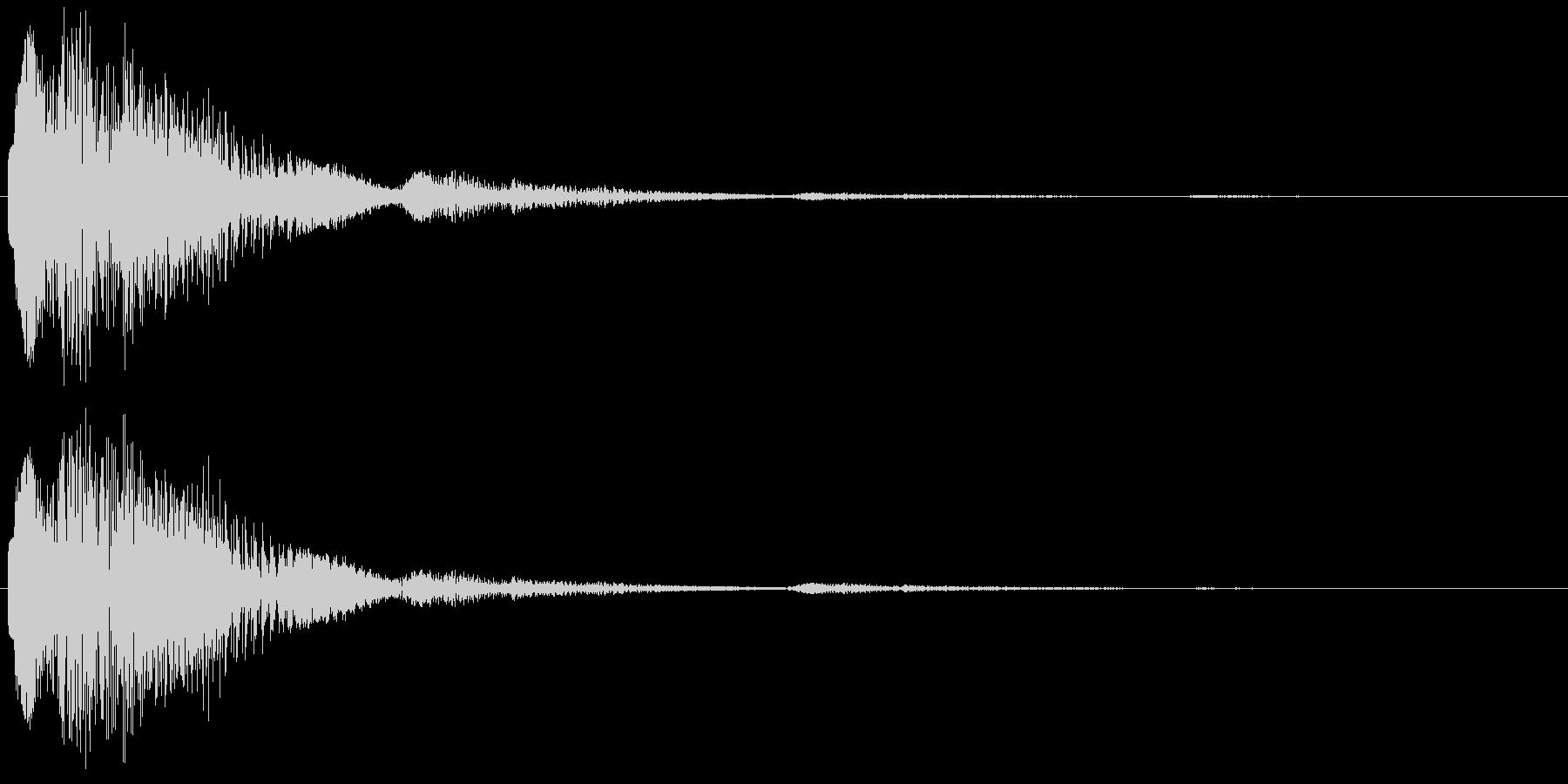 決定・空気感・キャッチー・印象的18の未再生の波形