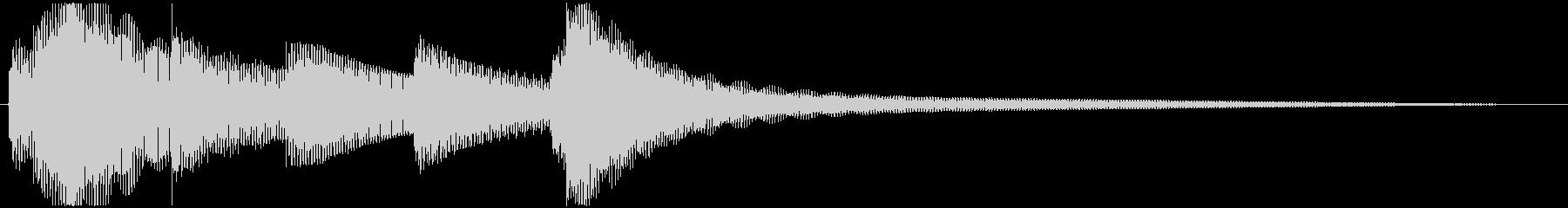 ゲームオーバー・回復などに使えるジングルの未再生の波形