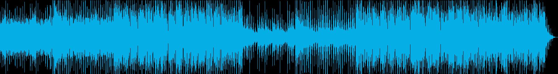 風流な雰囲気を表現したHouse BGMの再生済みの波形
