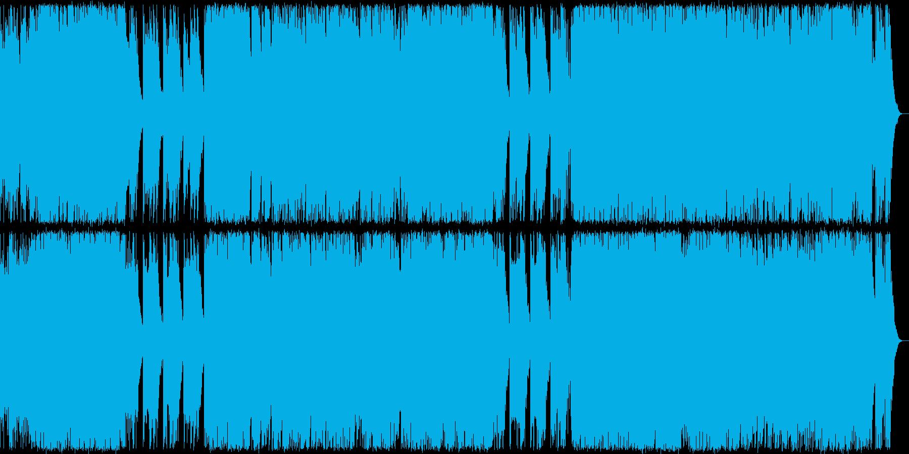 ハロウィン系BGMジャックオーランタン の再生済みの波形