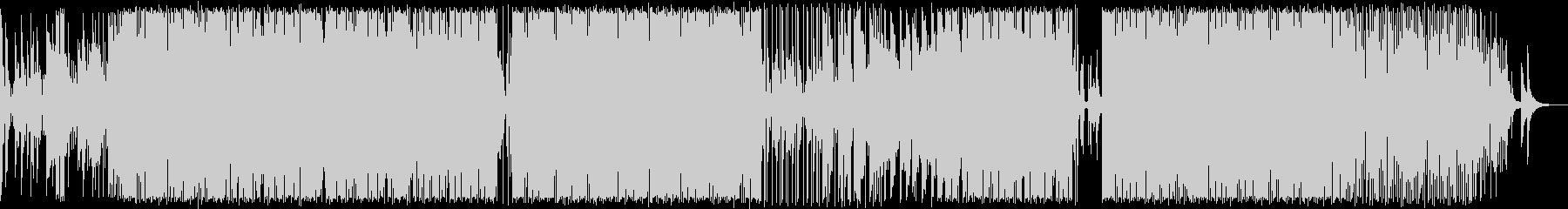ピアノの旋律にこだわったR&B調BGMの未再生の波形