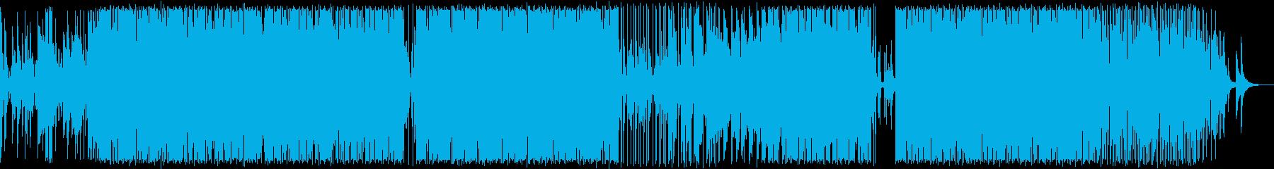 ピアノの旋律にこだわったR&B調BGMの再生済みの波形