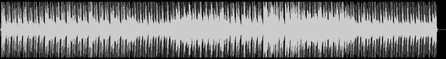 ピアノとギター・ローファイ・チルビートの未再生の波形