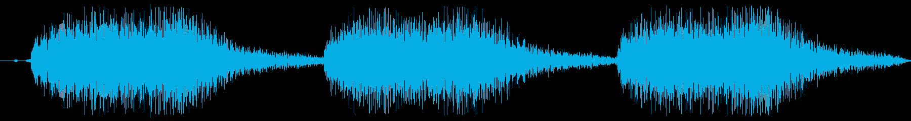 注意、警告音、警報の効果音です!04の再生済みの波形