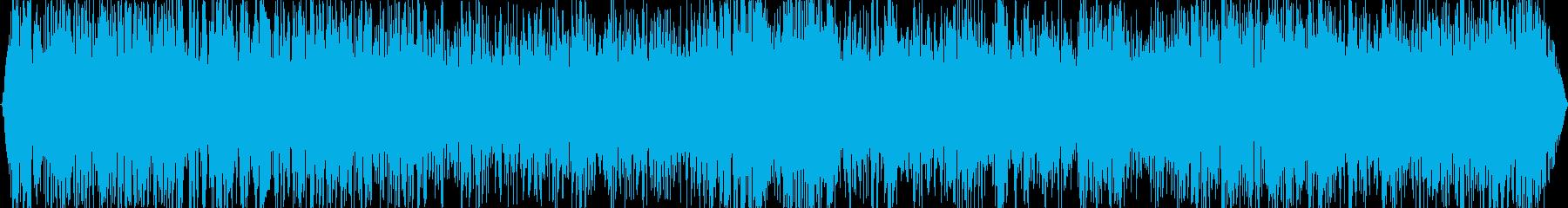 地響き(ゴゴゴゴ・・・・)の再生済みの波形