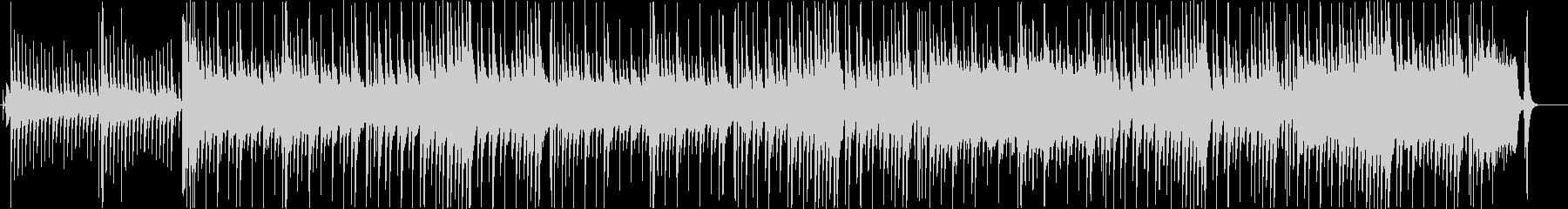 カリンバの音色が優しい雰囲気の3拍子の未再生の波形