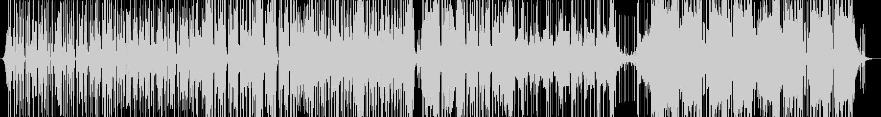 多くのアナログシンセによるエレクト...の未再生の波形