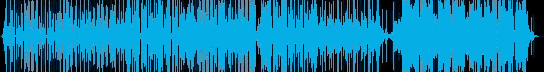 多くのアナログシンセによるエレクト...の再生済みの波形
