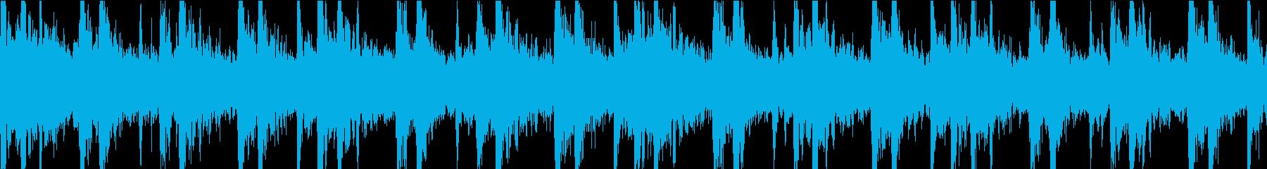 神秘的でアンビエントなエスニック/...の再生済みの波形