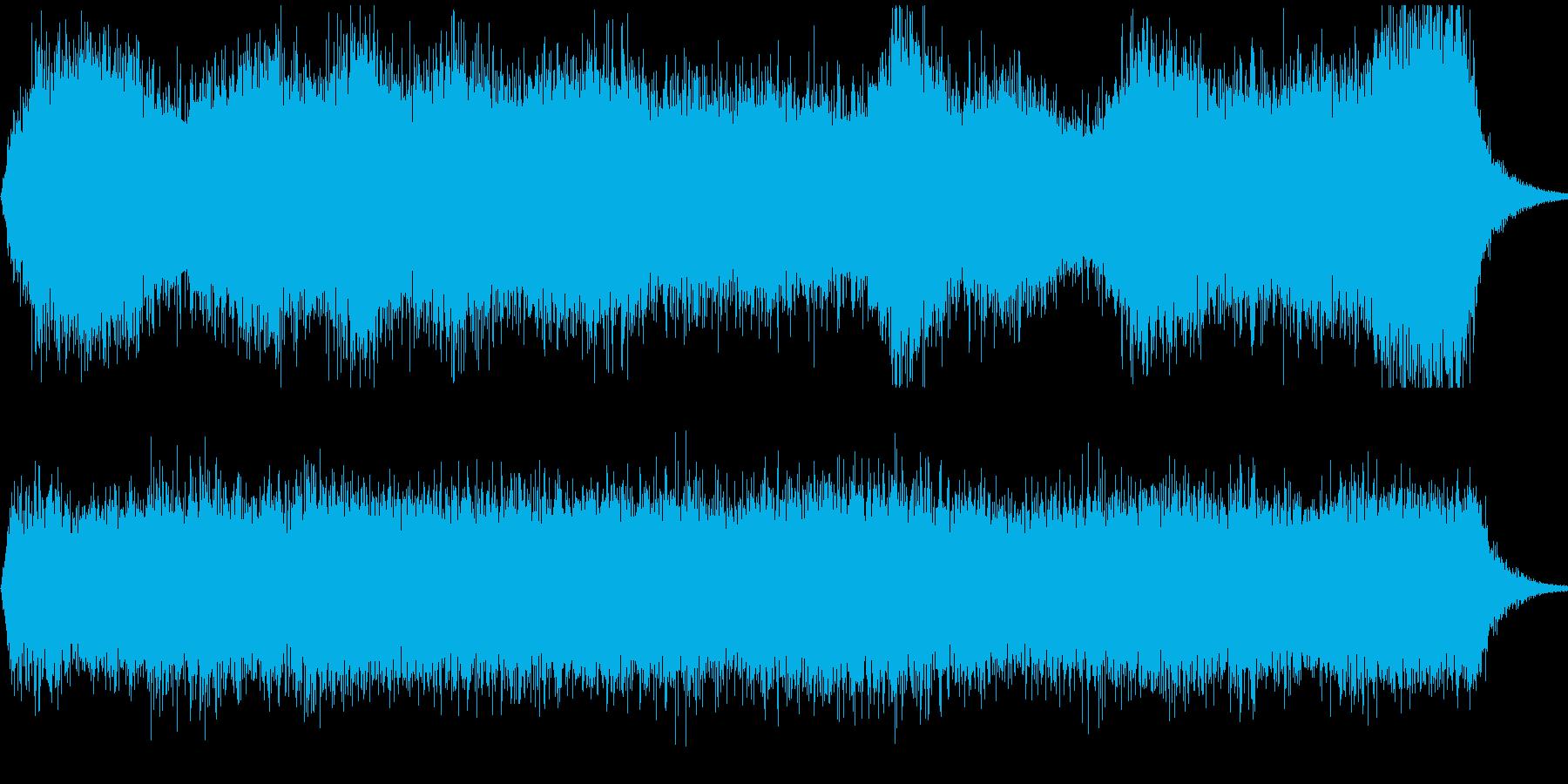 強い風の音ですの再生済みの波形