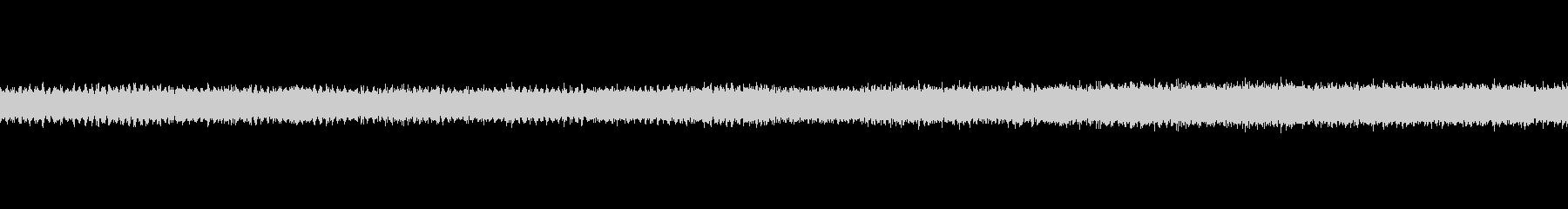 セミの声の未再生の波形