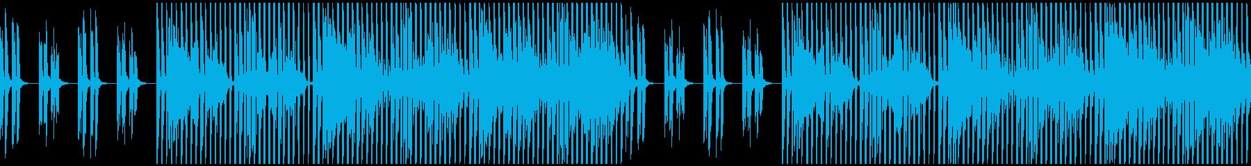企業VP/映像/おしゃれ/テクノ/浮遊感の再生済みの波形