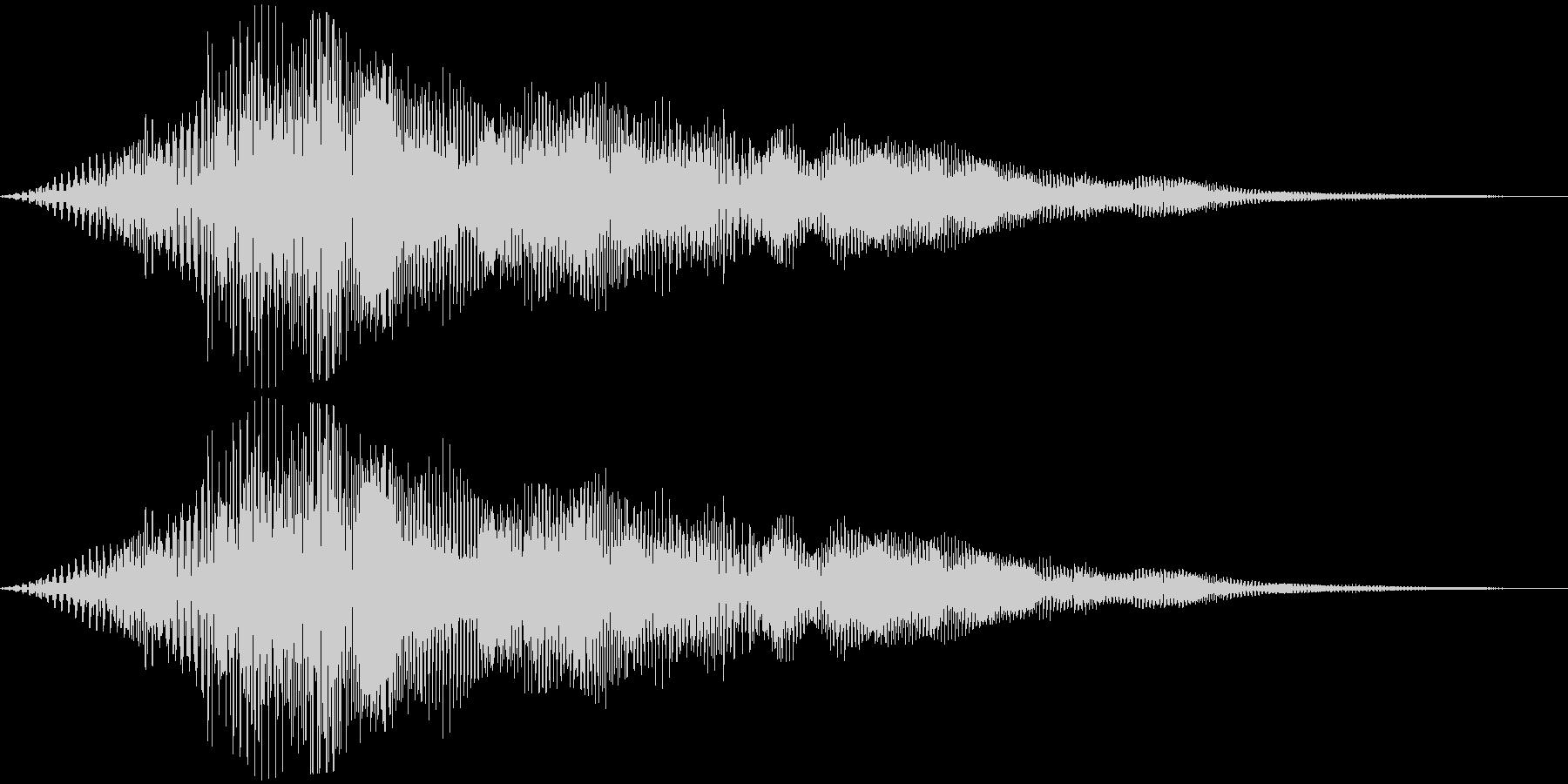 【ダークアンビエント】不気味な空間の未再生の波形