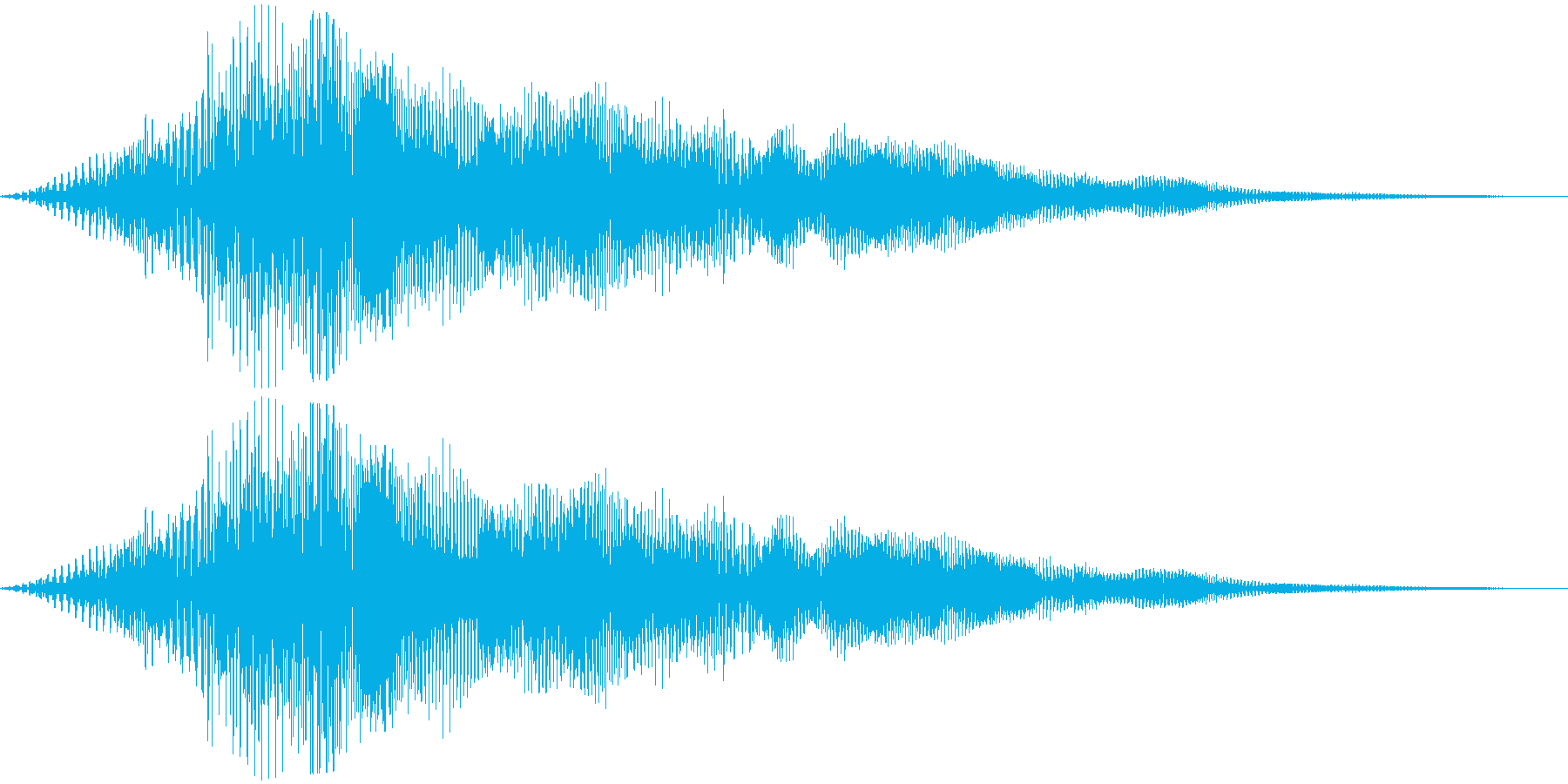 【ダークアンビエント】不気味な空間の再生済みの波形