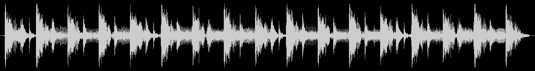 ベース生演奏のクールスラップジングル09の未再生の波形