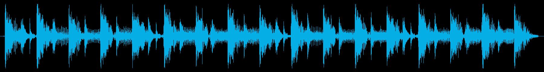ベース生演奏のクールスラップジングル09の再生済みの波形
