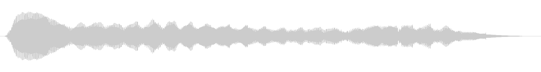 素材 シンセベーススムースロング01の未再生の波形