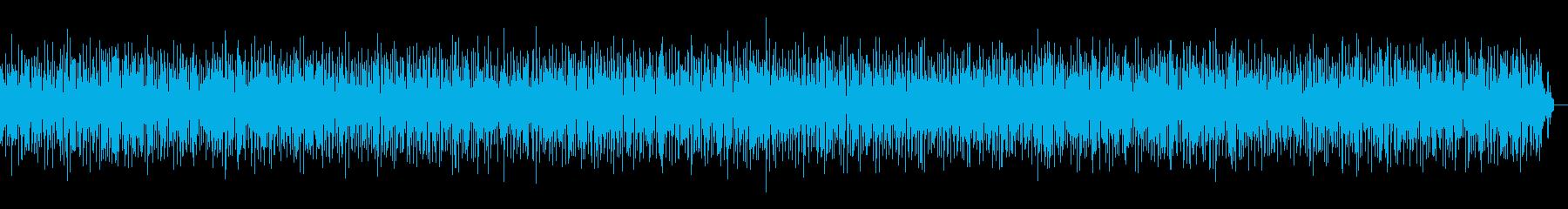 ヨーロッパ風な明るいアコーディオンジャズの再生済みの波形