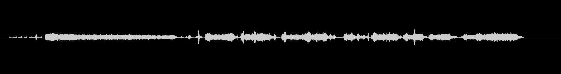 キートリム-楽器の未再生の波形