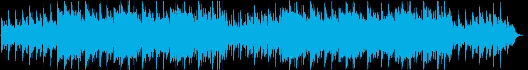 甘いアダルトなジャズバラードBGMの再生済みの波形