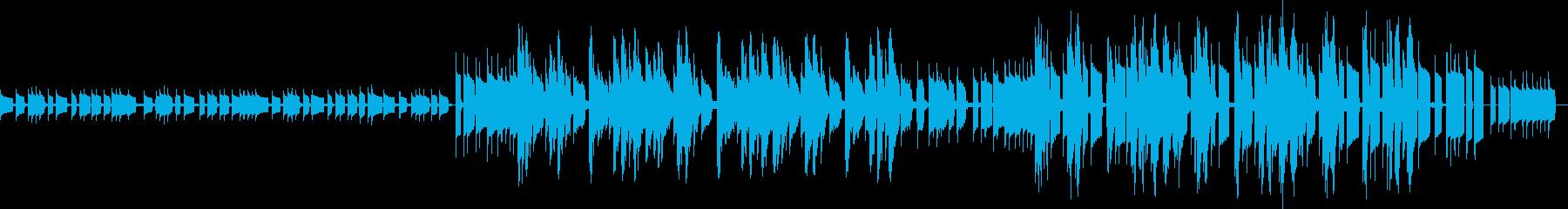 力強いアップテンポなギターサウンドの再生済みの波形