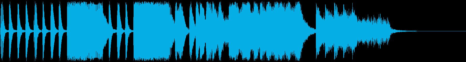 簡素な中から伝わるドキドキ感ex.verの再生済みの波形