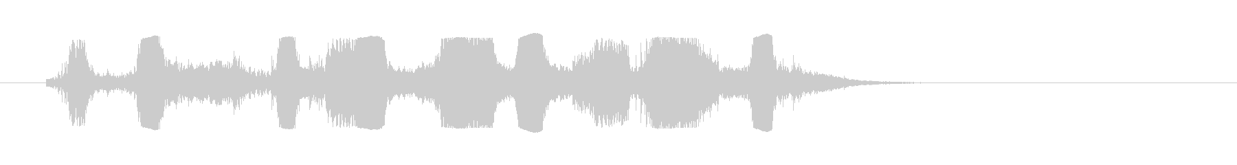 オートバイモトクロス; Revs ...の未再生の波形