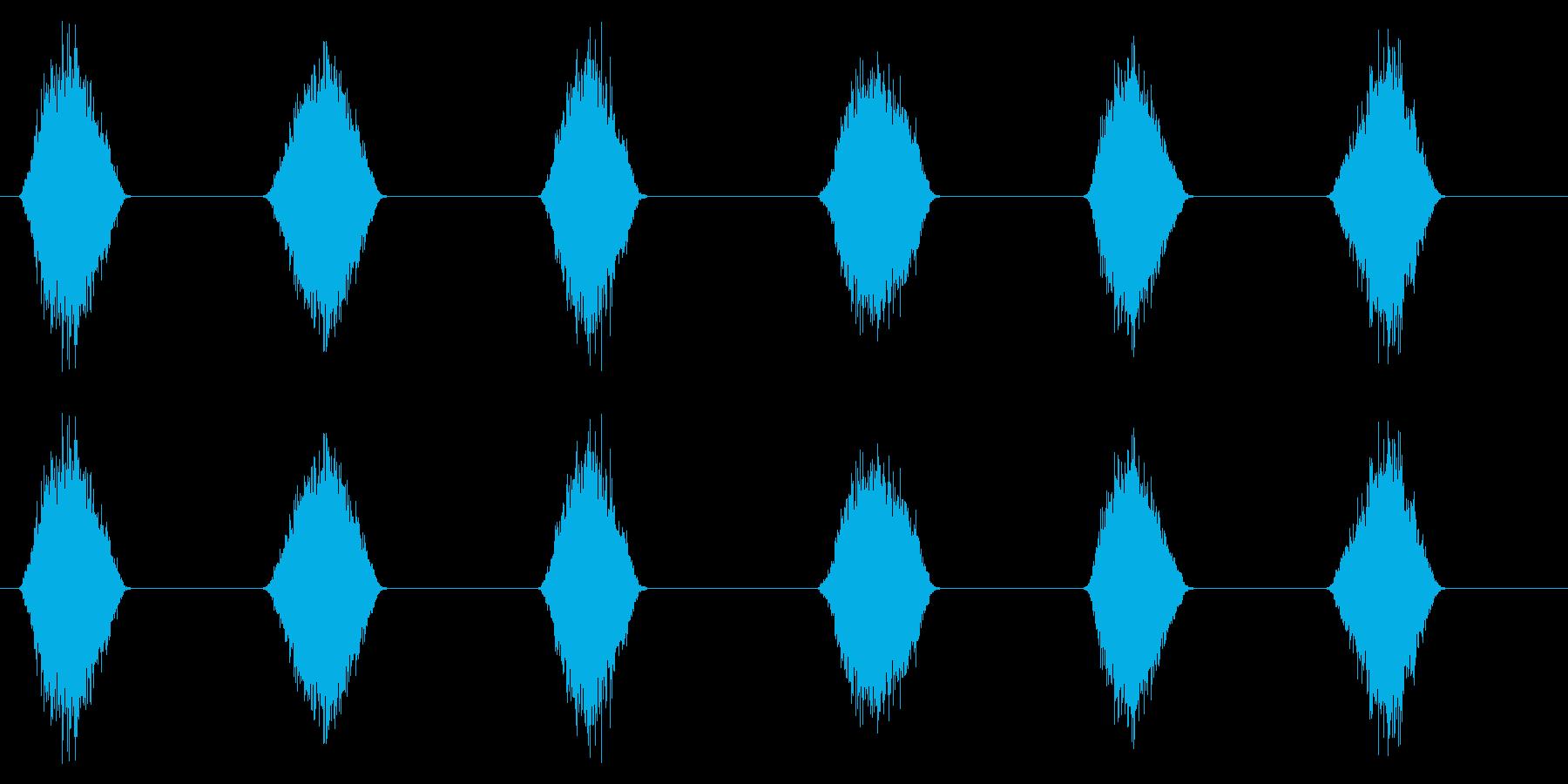 PC マウス ムーブ04-08(ソフト)の再生済みの波形