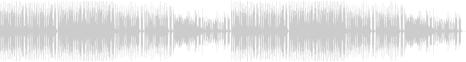 クール・おしゃれなBGM・4の未再生の波形